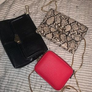 Topshop purses bundle
